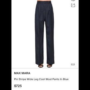 Max Mara pinstripe trouser